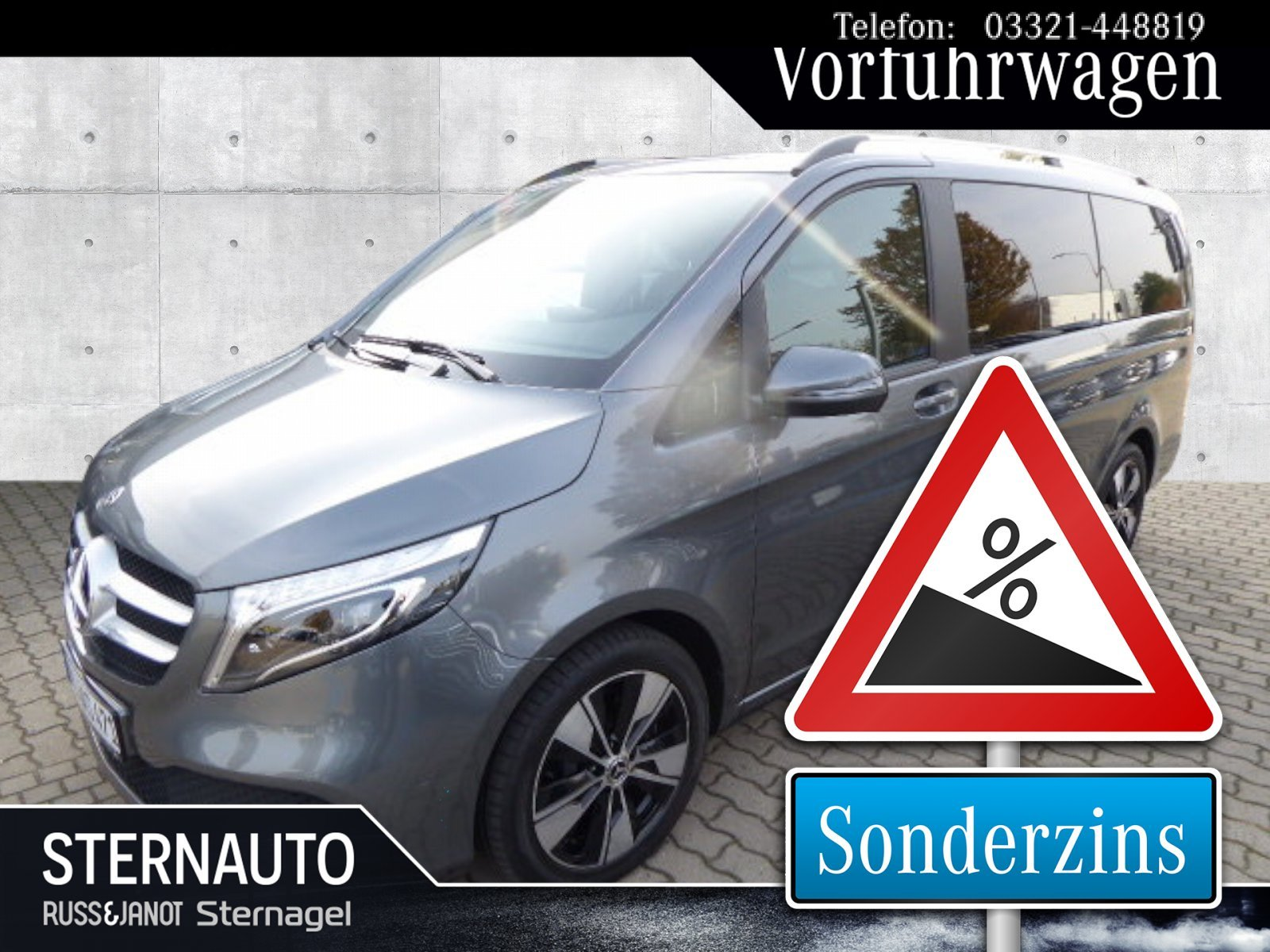 Mercedes-Benz V 300 d EDITION Lang LED-ILS/COMMAND/Tempomat, Jahr 2019, Diesel