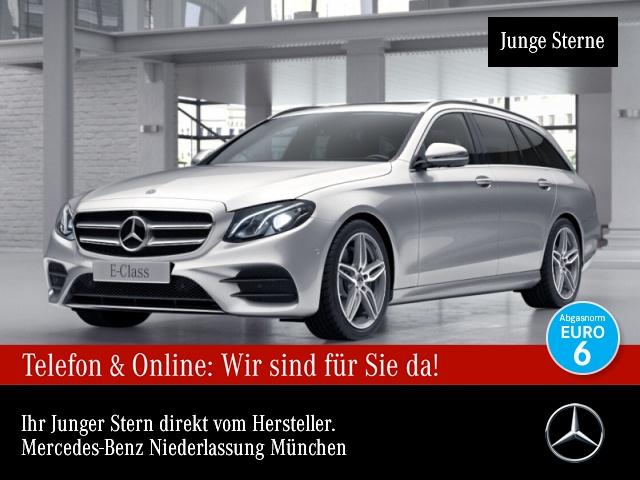 Mercedes-Benz E 200 T AMG 360° Distr. LED EDW Spurhalt-Ass PTS, Jahr 2017, Benzin