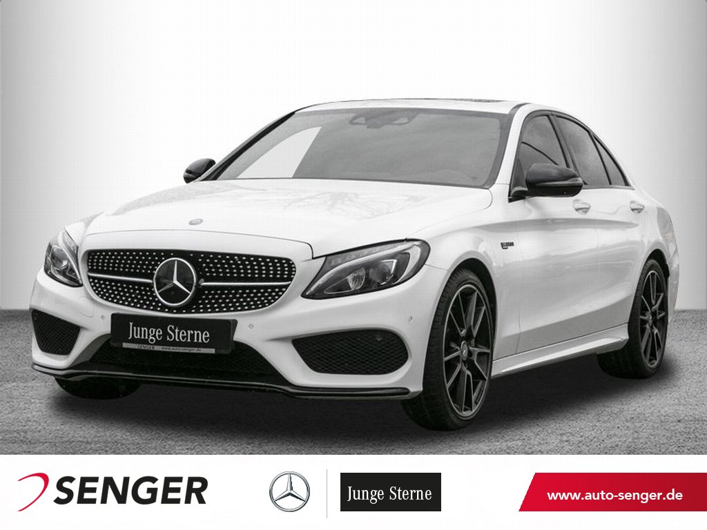 Mercedes-Benz C 450 AMG 4M *Distronic*Schiebedach*Head-up*LED*, Jahr 2016, Benzin