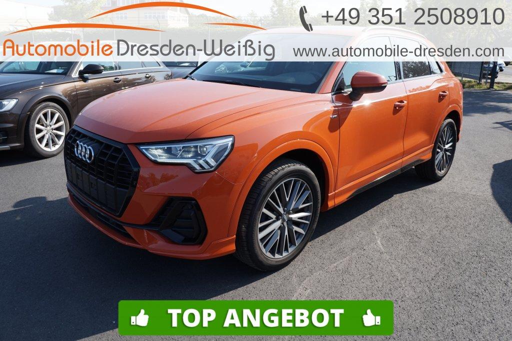 Audi Q3 35 TDI Design S line*Navi*Pano*voll LED*DAB*, Jahr 2019, Diesel