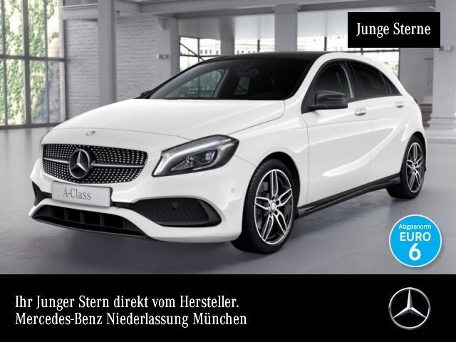Mercedes-Benz A 250 4M AMG Pano COMAND LED Night Kamera PTS Temp, Jahr 2016, Benzin