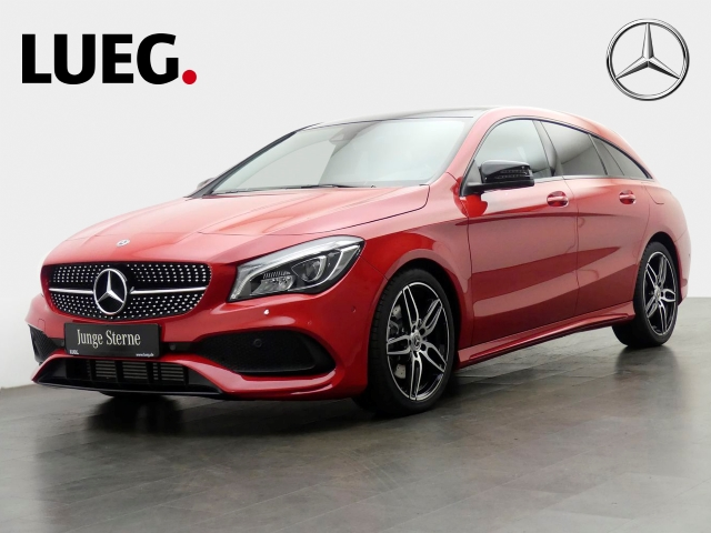 Mercedes-Benz CLA 220 Shooting Brake 4M AMG Navi+Pano+LED+Kamera, Jahr 2019, Benzin