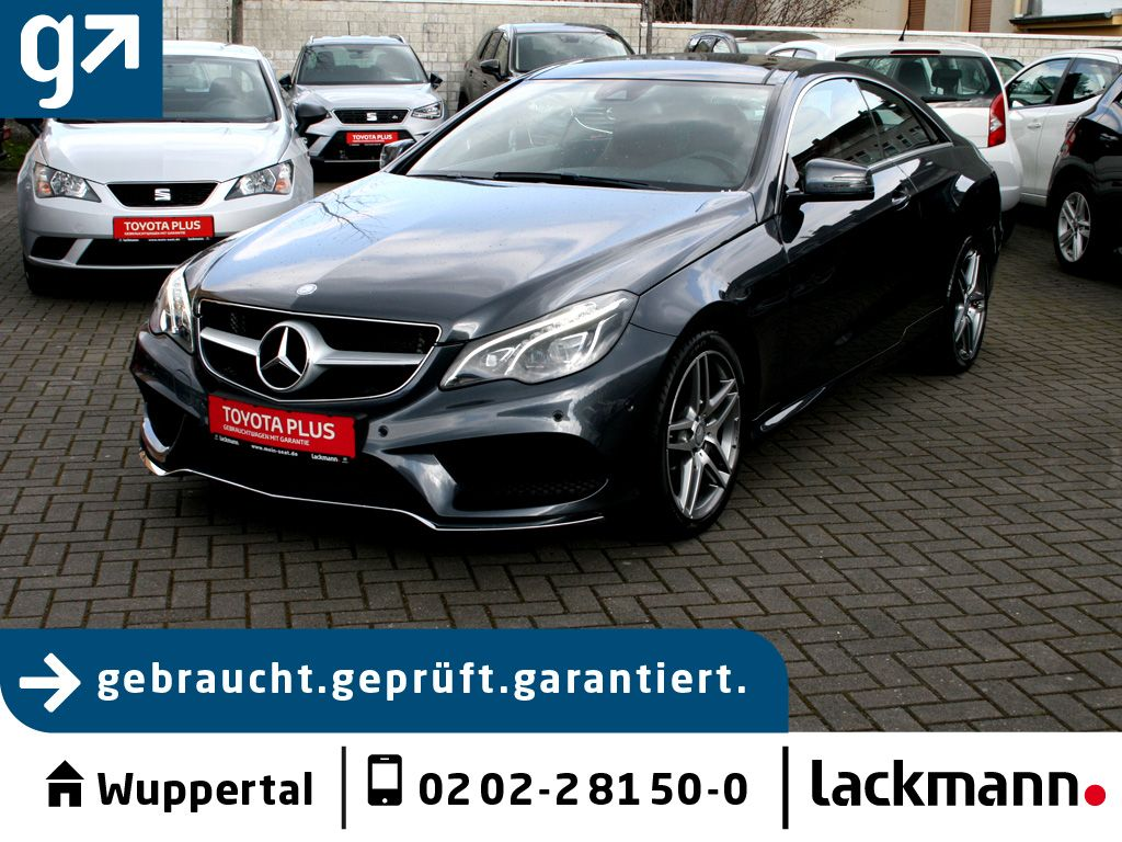 Mercedes-Benz E 400 Coupe 7G *AMG*Pano*Navi*Leder*LED, Jahr 2015, Benzin