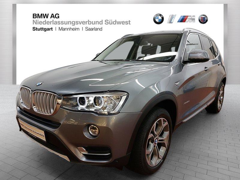 BMW X3 xDrive20d HiFi Xenon RFK Navi Prof. Fl.Ass., Jahr 2017, Diesel