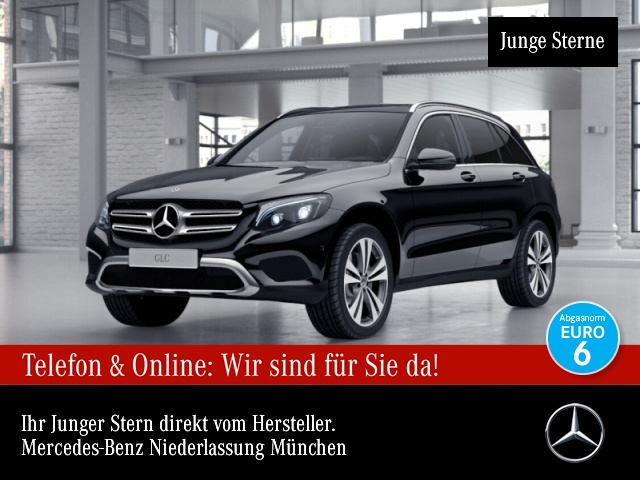 Mercedes-Benz GLC 250 d 4M Exclusive Stdhzg Pano Burmester EDW, Jahr 2017, Diesel