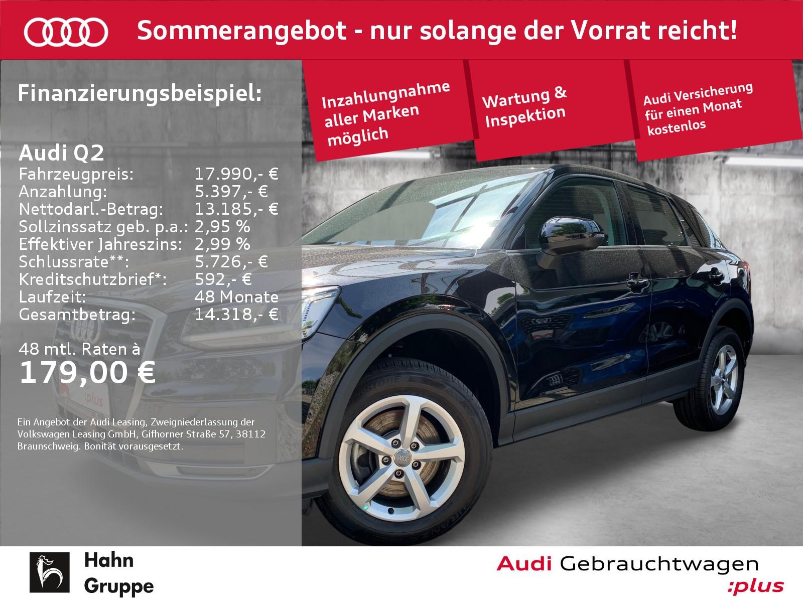 Audi Q2 1.0TFSI LED Navi-Vorb Einparkhilfe Sitzheizung, Jahr 2018, Benzin