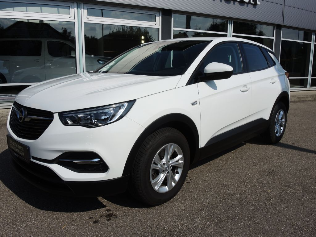 Opel Grandland X 1.2 Start/Stop Selection*DAB*Verkehrsschilderkennung*, Jahr 2017, Benzin
