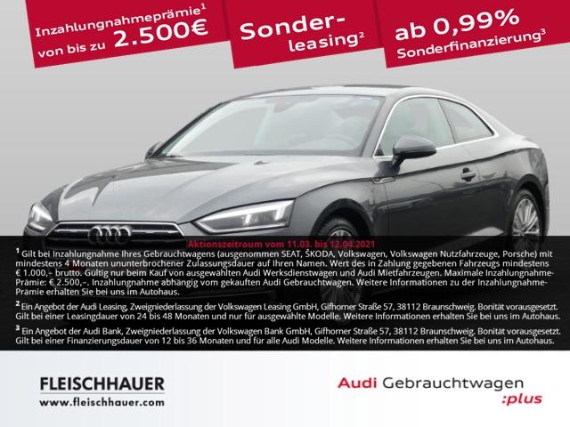 Audi A5 Coupe 40 2.0 TFSI design EU6d-T S line, Jahr 2019, Benzin