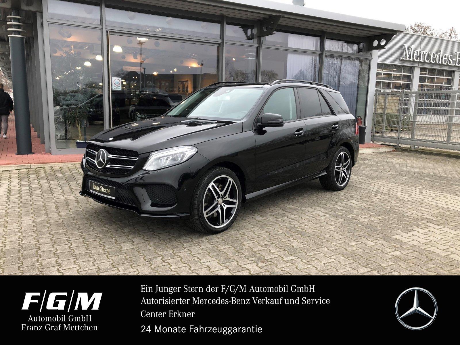 Mercedes-Benz GLE 450 AMG COM/ILS/Night/Airmatic/Distr/PanoDac, Jahr 2016, Benzin