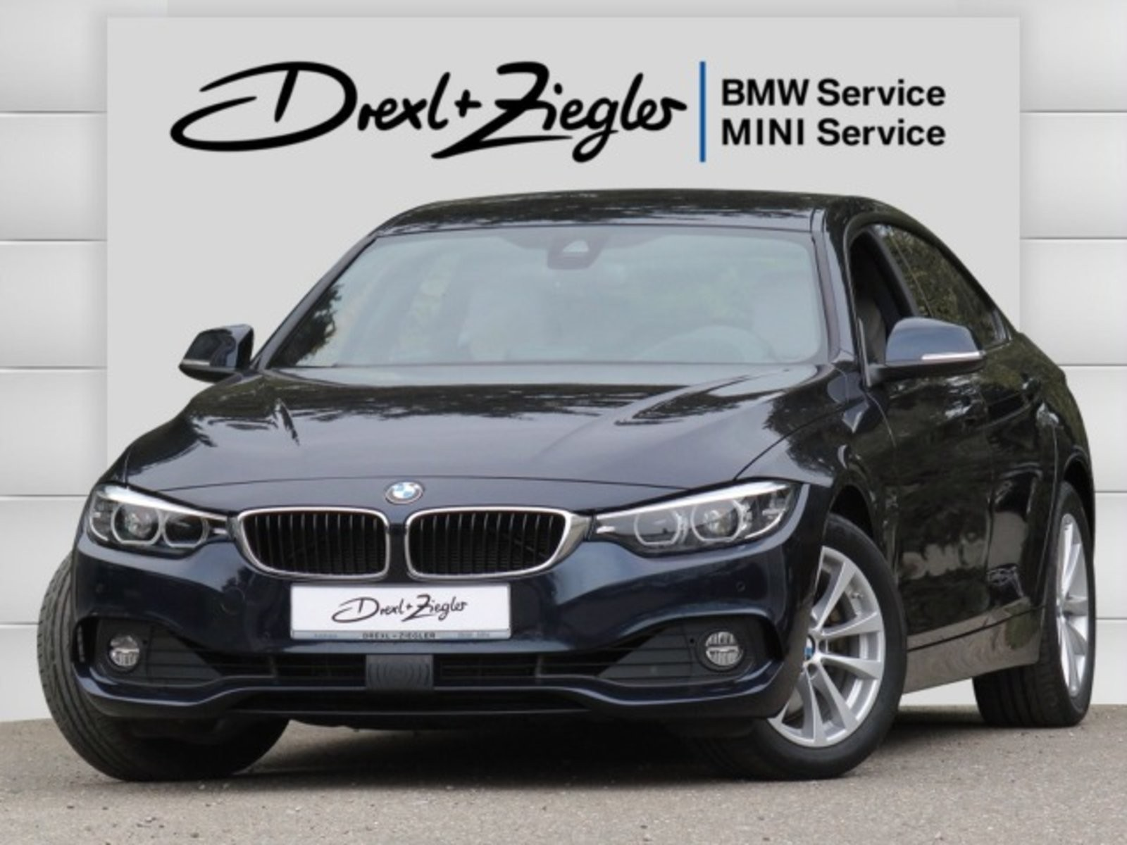 BMW 430d Gran Coupe Advantage LED Navi HUD DAB AHK, Jahr 2017, Diesel