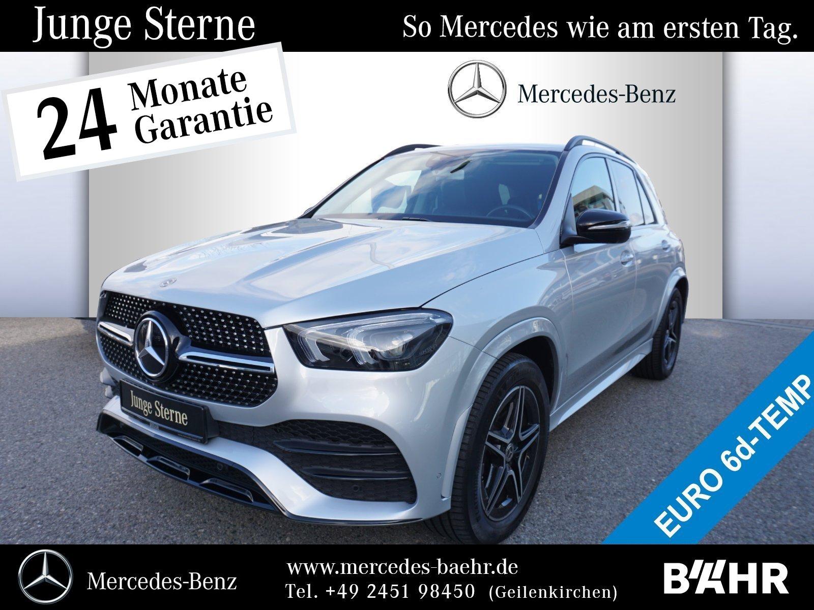 Mercedes-Benz GLE 300 d 4M AMG+Night/MBUX-Navi/LED/360°/Wide, Jahr 2019, Diesel