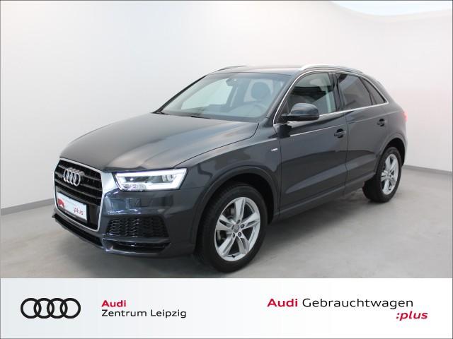 Audi Q3 2.0 TDI quattro sport *S tronic*S line*LED*, Jahr 2018, Diesel