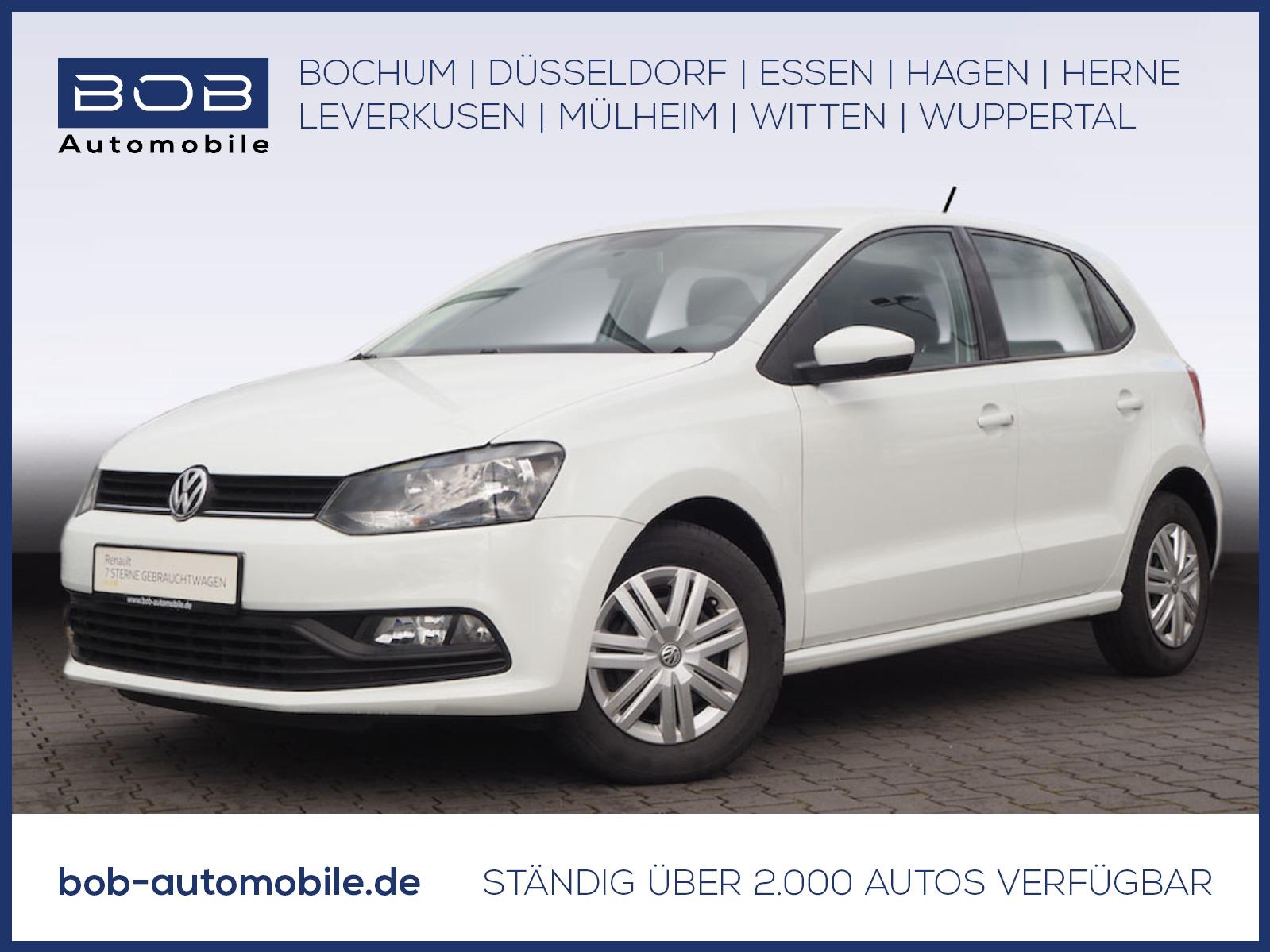 Volkswagen Polo 1.0 Trendline KLIMA 8 FACH BEREIFT, Jahr 2017, Benzin