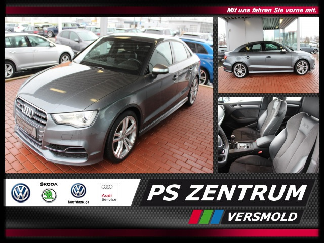 Audi S3 2.0 TFSI quattro Navi, Xenon Bluetooth Klima, Jahr 2014, petrol
