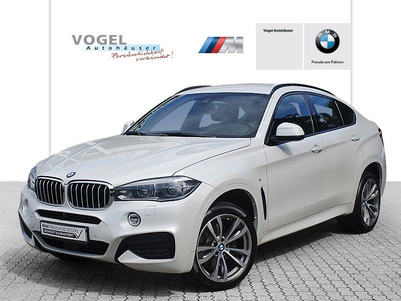 BMW X6 xDrive40d M Sportpaket Euro 6 Navi Prof RFK PDC Klima Shz Head-Up, Jahr 2016, Diesel