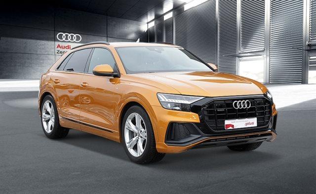 """Audi Q8 50 TDI 2xS line ACC 21"""" MATRIX AHK PANO AIR, Jahr 2019, diesel"""