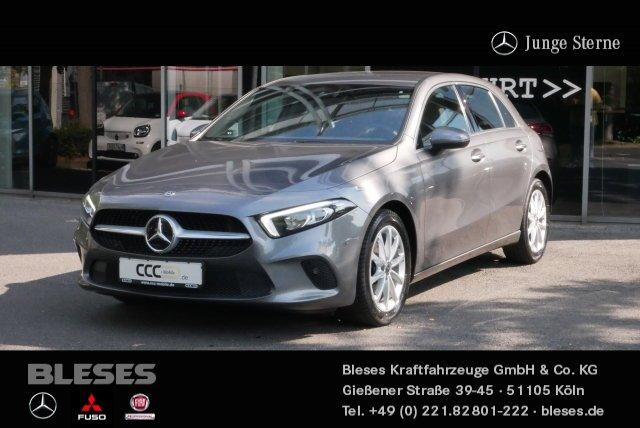 Mercedes-Benz A 180 Kompaktlimousine Progressive +Navi+Klima+, Jahr 2019, Benzin