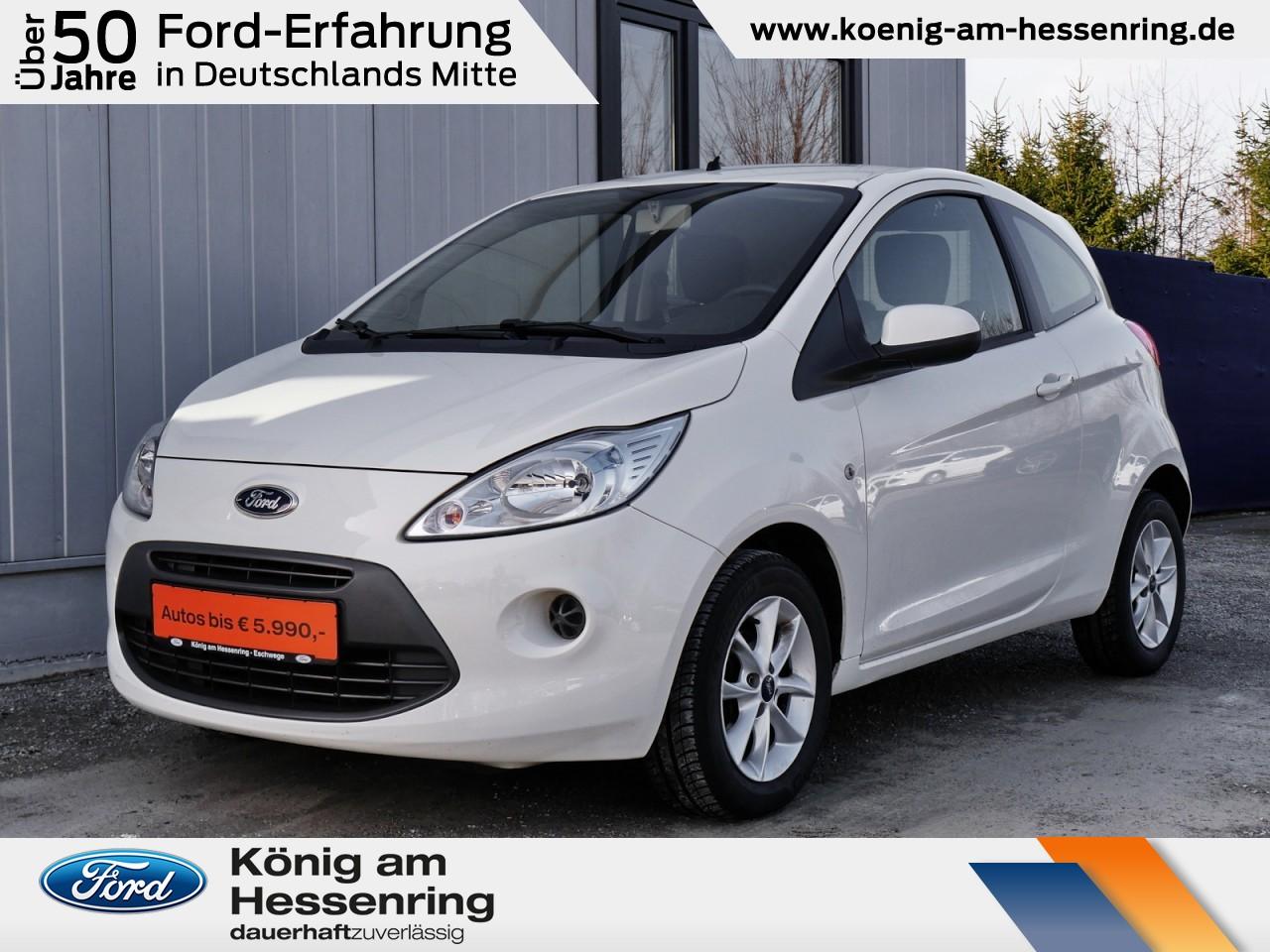 Ford Ka Cool&Sound Klima+Audio-CD/MP3+Alu+EURO6, Jahr 2014, Benzin