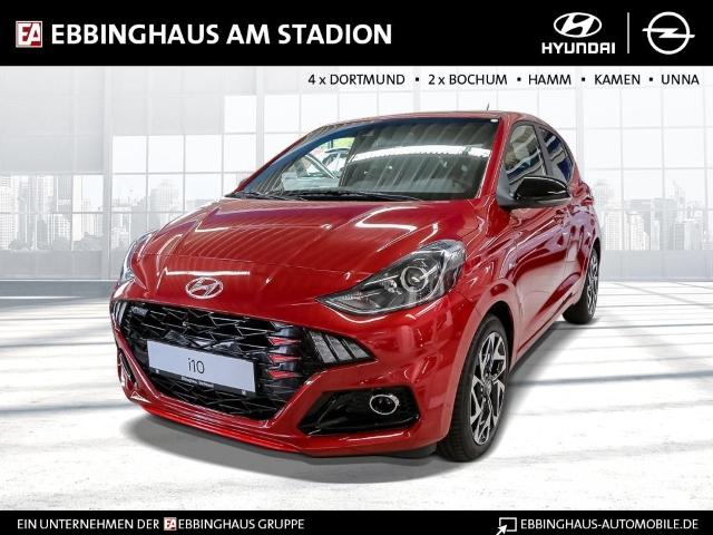 Hyundai i10 N-Line 1.0 EU6d Navi Fernlichtass. Multif.Lenkrad RDC, Jahr 2020, Benzin