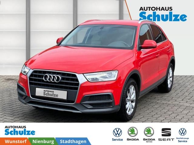 Audi Q3 1.4 TFSI Design, 2-Zonen-Klimaa., Xenon, AHK, Jahr 2017, Benzin