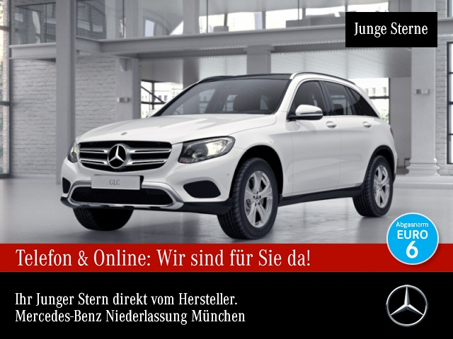 Mercedes-Benz GLC 250 d 4M Exclusive Pano COMAND Kamera PTS 9G, Jahr 2017, Diesel