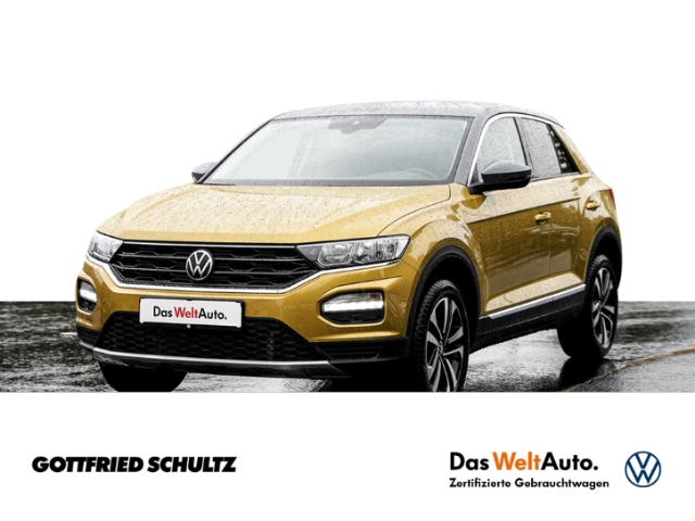 Volkswagen T-Roc 1.5 TSI DSG UNITED NAVI SHZ RÜFA APP ZV, Jahr 2021, Benzin