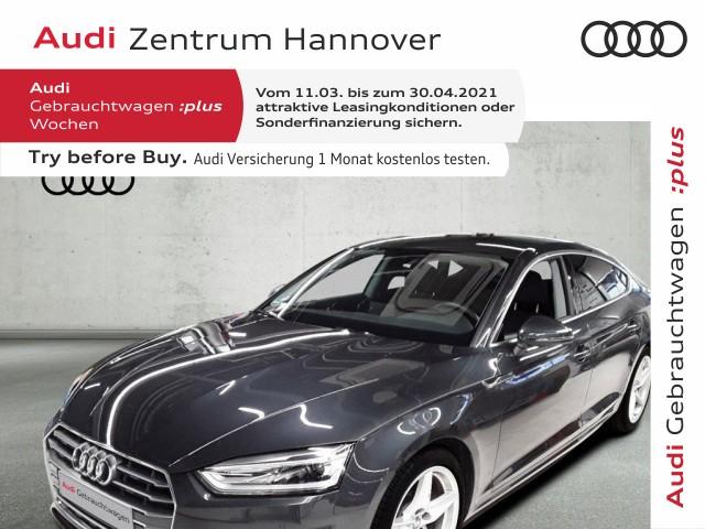 Audi A5 Sportback 40 TFSI sport, AHK, DAB, Navi, Xenon, Jahr 2019, Benzin