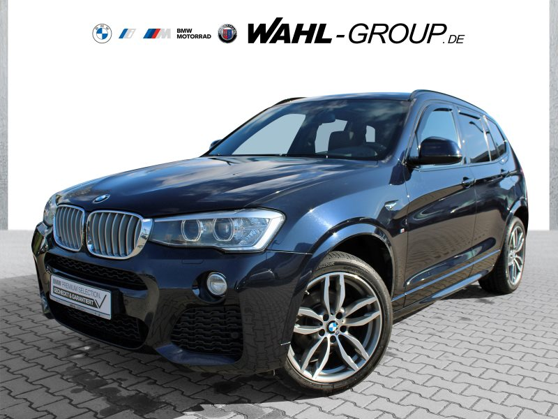 BMW X3 xDrive30d M-Paket EDC Pada Standhzg Navi HUD, Jahr 2014, Diesel