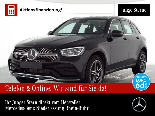 Mercedes-Benz GLC 200 4M AMG LED Kamera Easy-Pack 9G Sitzh Temp, Jahr 2020, Benzin