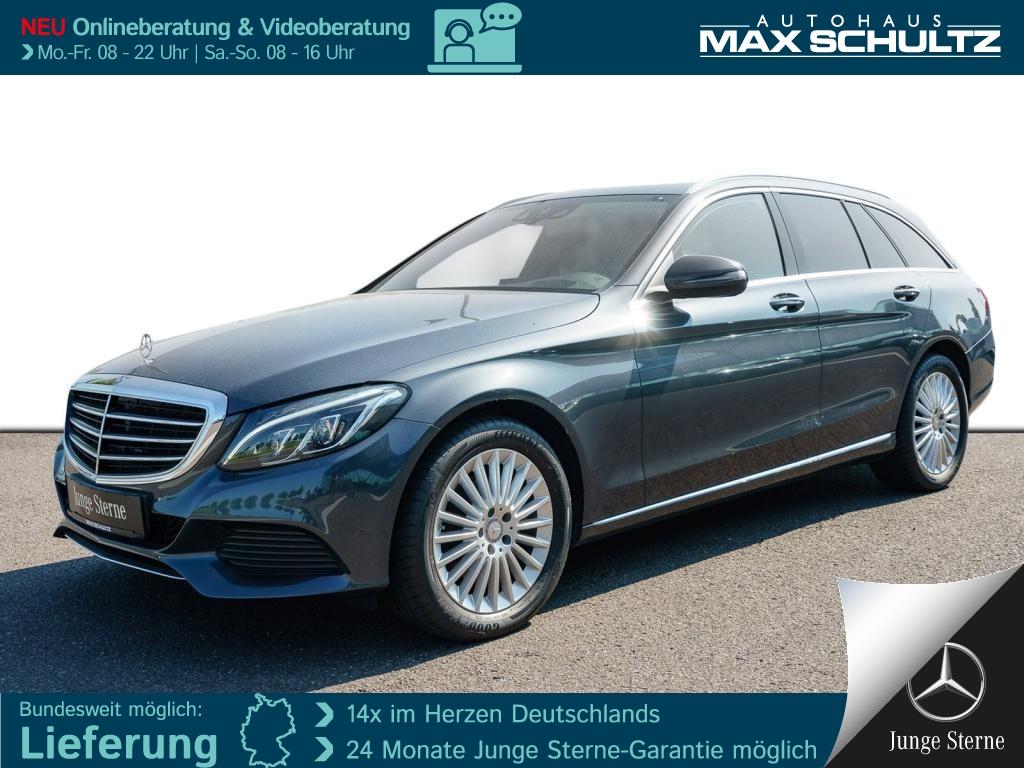 Mercedes-Benz C 220 d T-Modell Exclusive*LED*HUD*Kamera*Spur-P, Jahr 2015, Diesel
