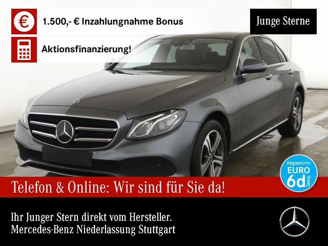 Mercedes-Benz E 200 d Avantgarde Fahrass.AHK.KEYLESS.getGlas, Jahr 2019, Diesel