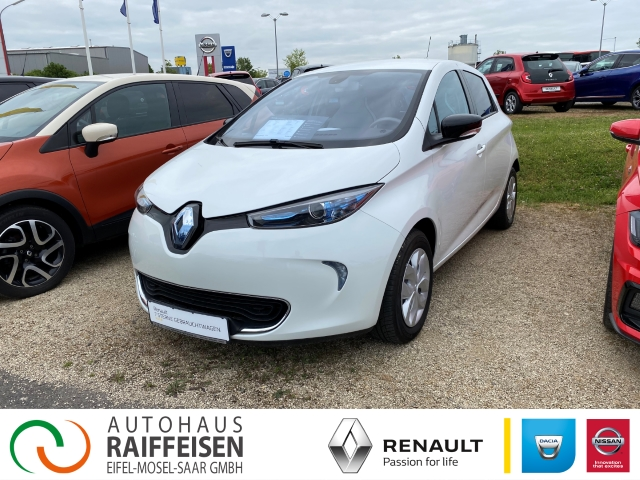 Renault ZOE inkl. E.Box Navi Keyless LED-Tagfahrlicht RDC Klimaautom Temp PDC CD AUX USB Regensensor, Jahr 2014, Elektro