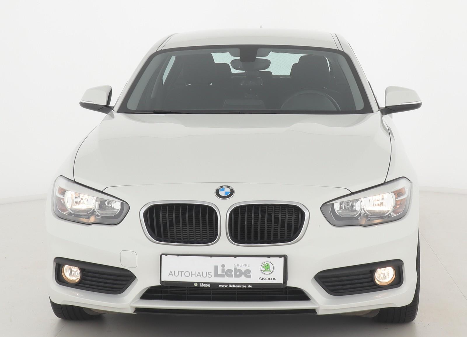 BMW 116i LIM. 5.TRG KLIMA SHZ PDC UNTERBODENSCAN, Jahr 2015, Benzin