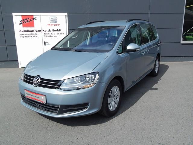 Volkswagen Sharan BlueMotion 1.4 TSI 6-Gang-DSG Comfortline, Jahr 2013, Benzin