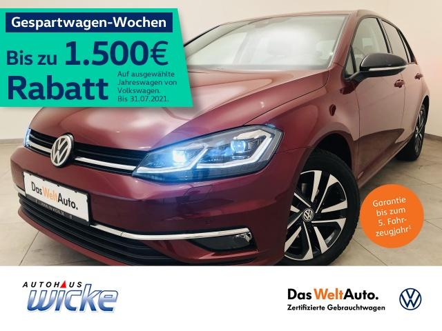Volkswagen Golf VII 1.0 TSI IQ.DRIVE Navi Klima ACC LED, Jahr 2019, Benzin