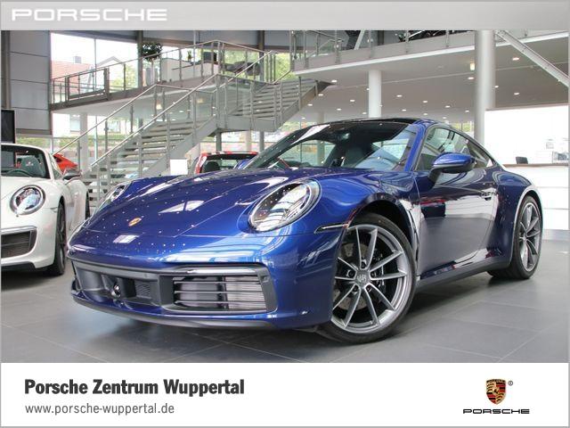 Porsche 992 911 Carrera S Sportabgasanlage Rückfahrkamera, Jahr 2019, petrol