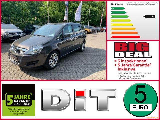 Opel Zafira 1.7 CDTI ecoFlex Family Plus Klimaautomat, Jahr 2013, Diesel
