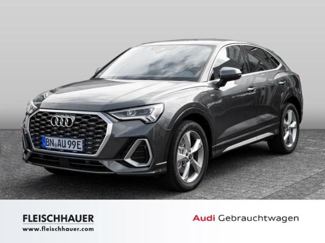 Audi Q3 Sportback 45 TFSI e S line 1.4 UPE 61.200 EUR, Jahr 2021, Hybrid