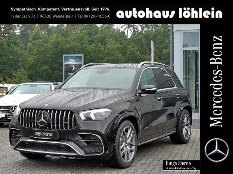 Mercedes-Benz GLE 63 AMG 4M+ BURMESTER+AHK+PANO+MEMORY+KEYLESS, Jahr 2019, Benzin