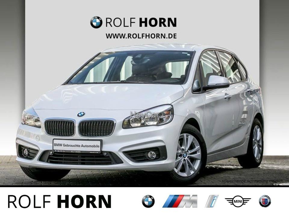 BMW 218 Active Tourer Advantage Klima AHK PDC RKam, Jahr 2017, Benzin