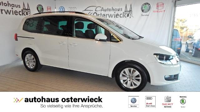 Volkswagen Sharan 2.0TDI Comfortline Panorama/Klimaaut./Tem, Jahr 2015, diesel