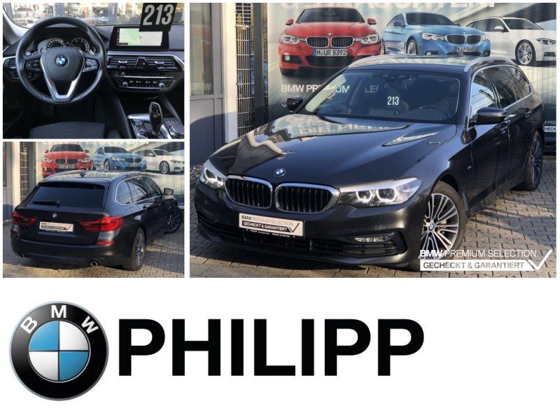 BMW 525d Tou Sport Line HiFi DAB LED WLAN Klimaaut., Jahr 2017, Diesel