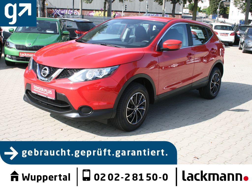 Nissan Qashqai 1.2 DIG-T *AHK*17-Zoll*, Jahr 2015, Benzin