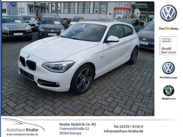 BMW 120 1er - 120d xDrive PANO+PDC+XENON, Jahr 2013, diesel