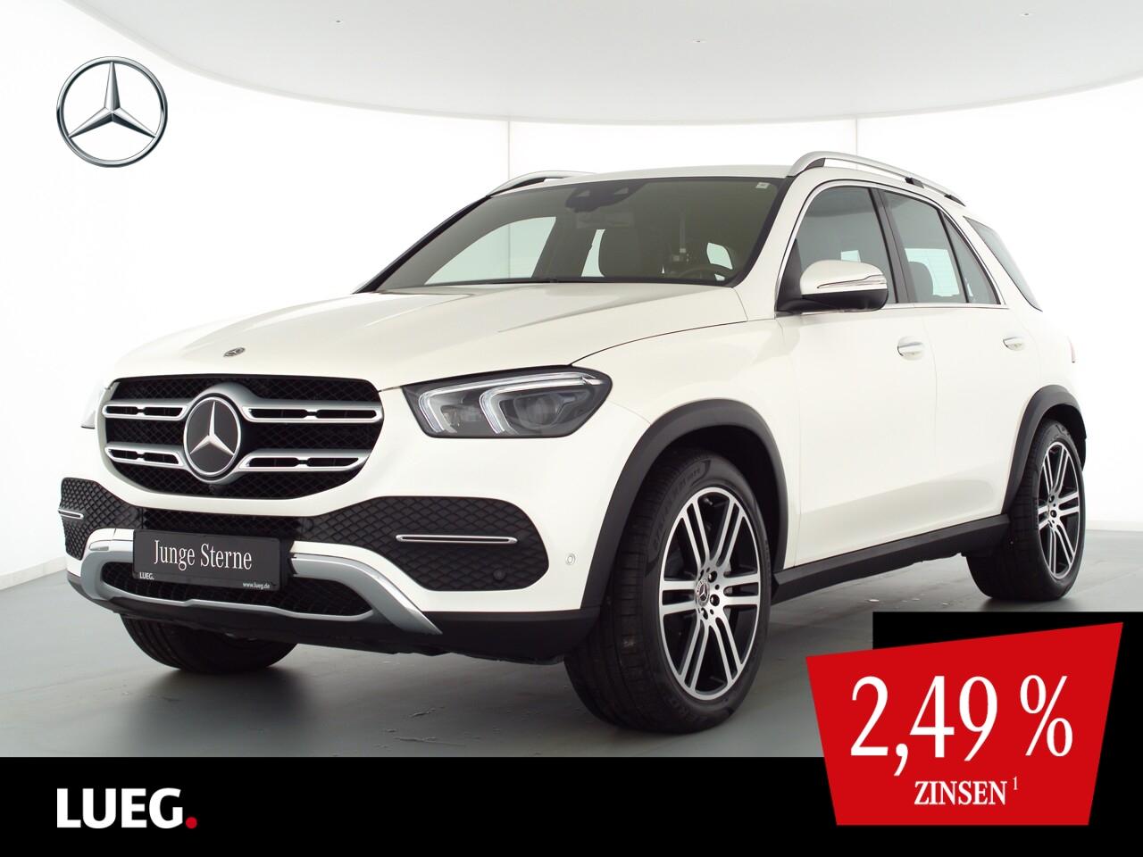 Mercedes-Benz GLE 450 4M MBUX+Mbeam+Distr+HUD+21+Mem+KeyGo+360, Jahr 2019, Benzin