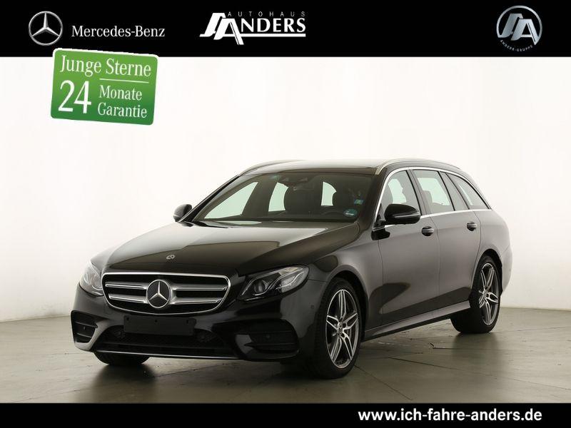 Mercedes-Benz E 450 4M T AMG Distr.+Pano+Widescr.+Comand+360°, Jahr 2019, Benzin