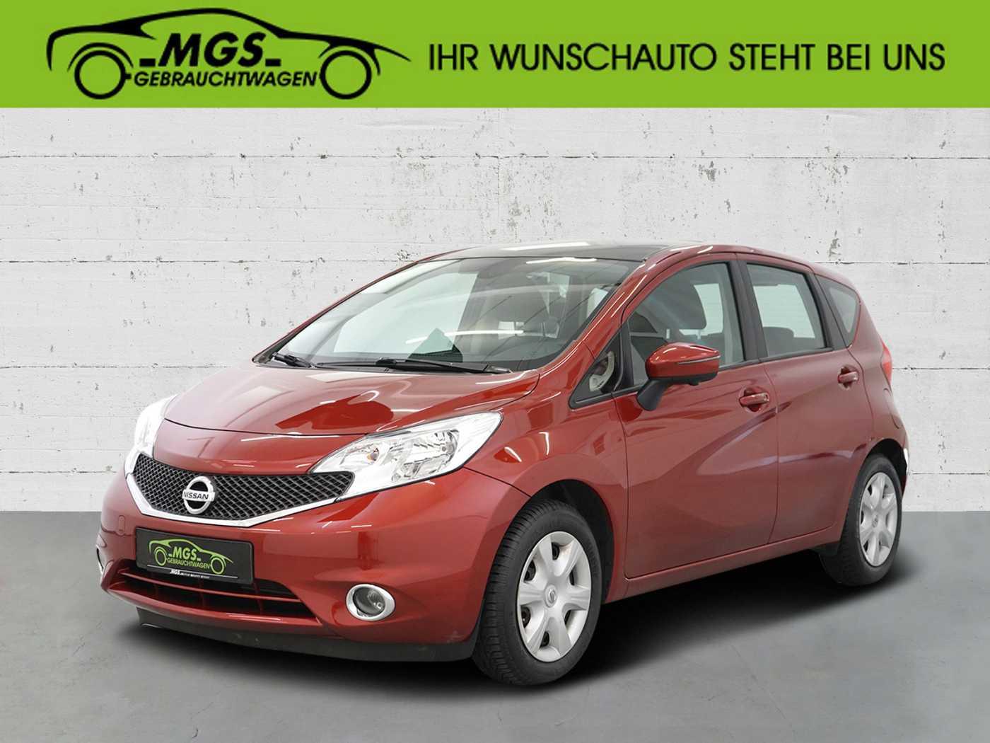 Nissan Note 1.2 acenta, Jahr 2014, Benzin