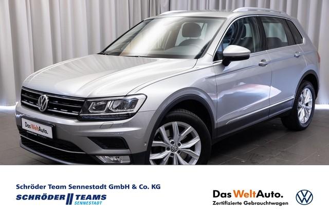 Volkswagen Tiguan 2.0 TSI DSG 4MOTION Highline LED,AHK,Navi,Kamera,, Jahr 2016, Benzin