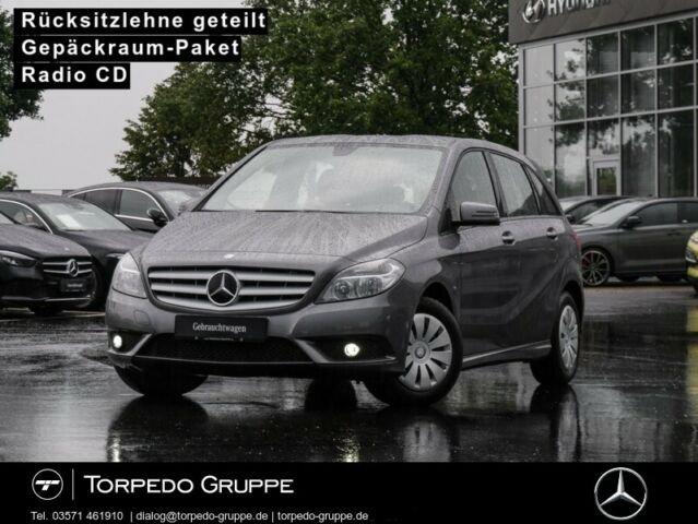 Mercedes-Benz B 180 KLIMA+AHK+METALLIC+RADIO CD+1. HAND+, Jahr 2013, Benzin