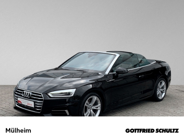 Audi A5 Cabriolet 2.0 TFSI XENON NAVI KEYLESS LENKRADHEIZUNG AKUSTIKVER., Jahr 2018, Benzin